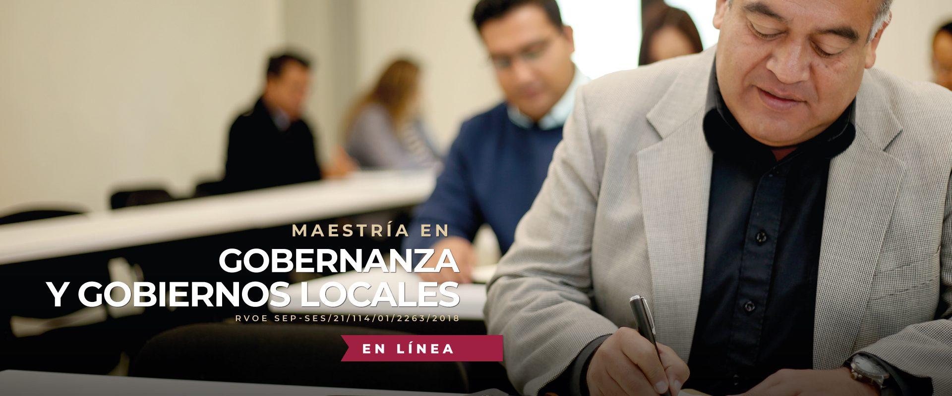 Maestría en Gobernanza y Gobiernos Locales