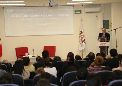 Conferencia Magistral El Enjuiciamiento Oral – Penal,