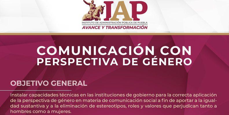 Programa de Comunicación con Perspectiva de Género