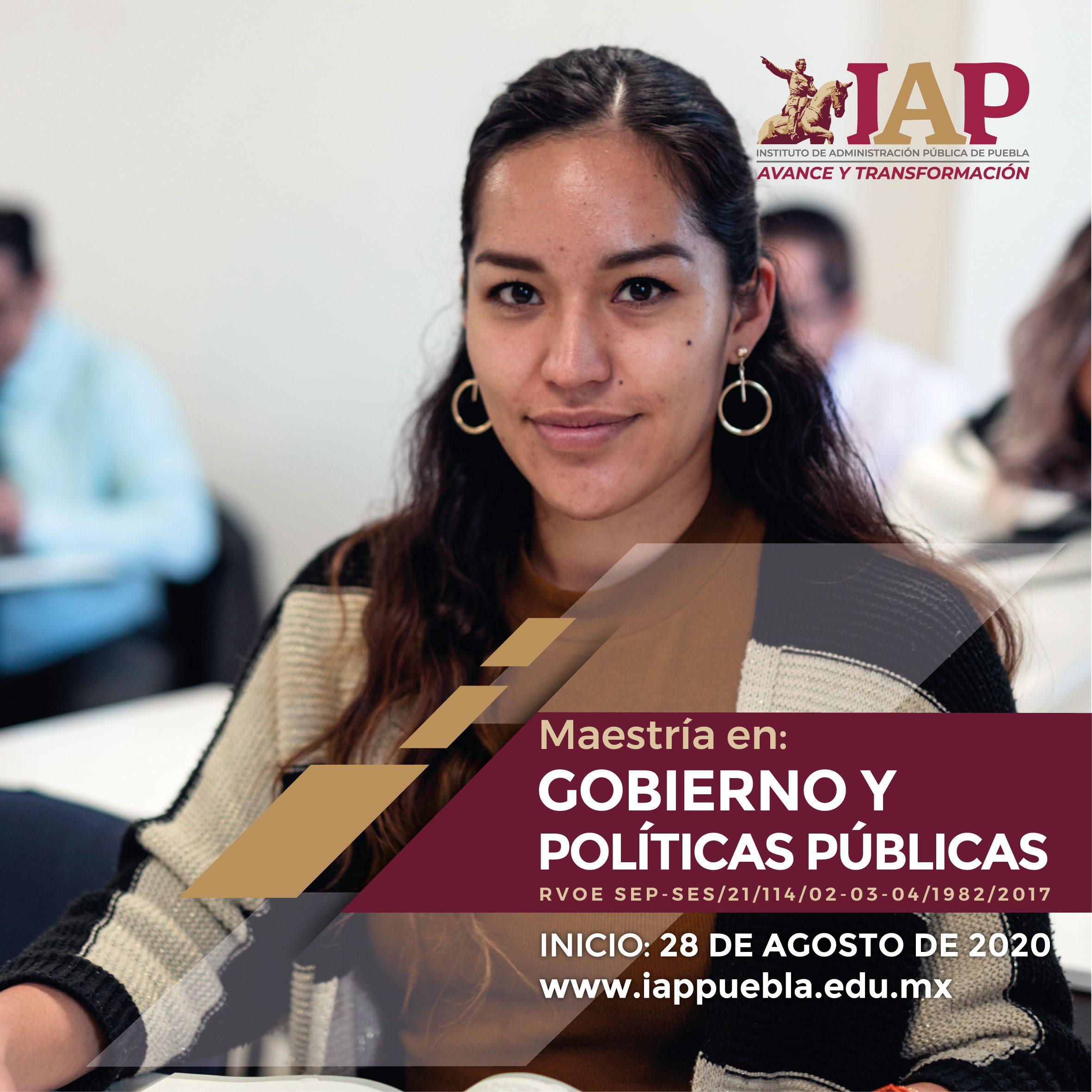 Maestría en Gobierno y Políticas Públicas