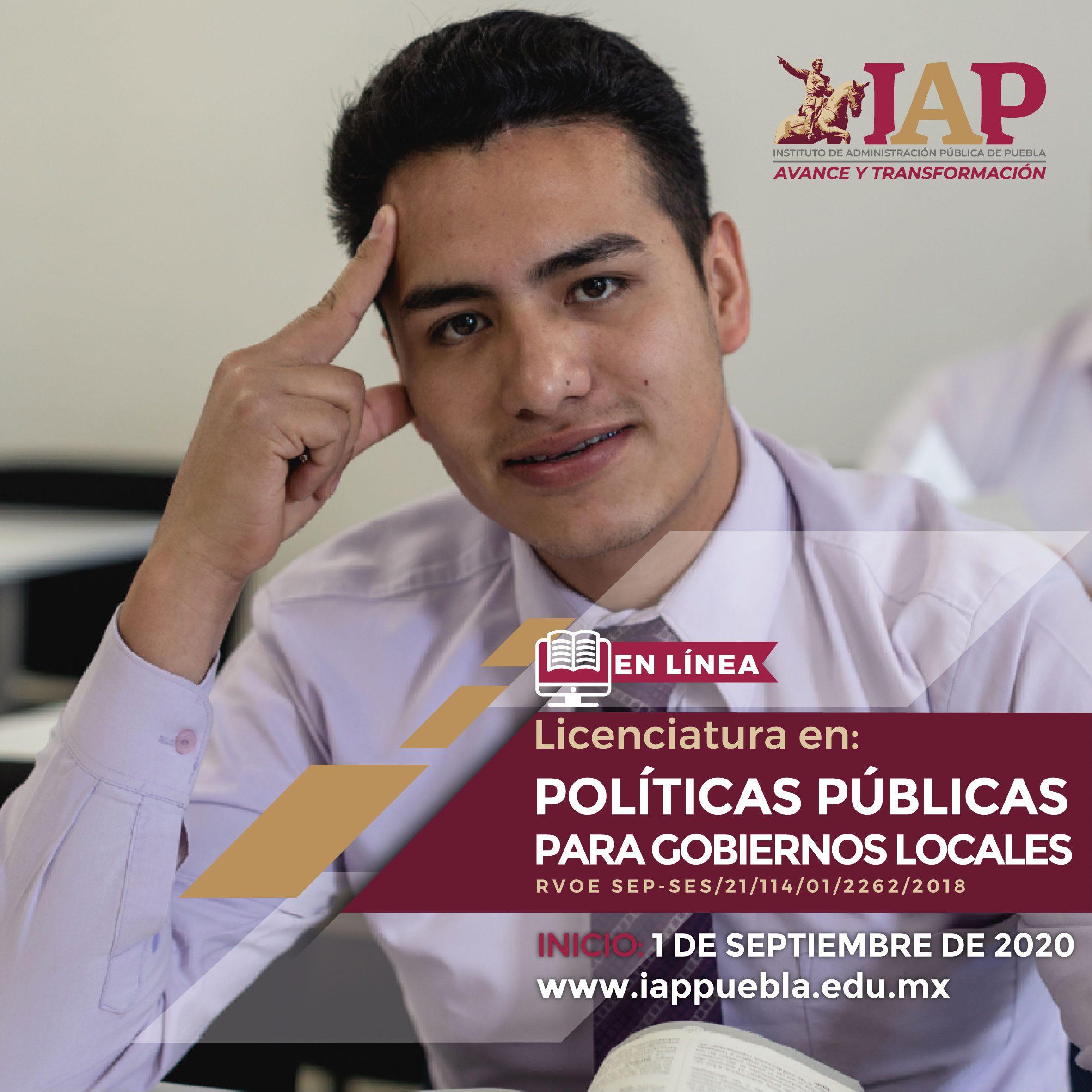 Licenciatura en Políticas Públicas para Gobiernos Locales