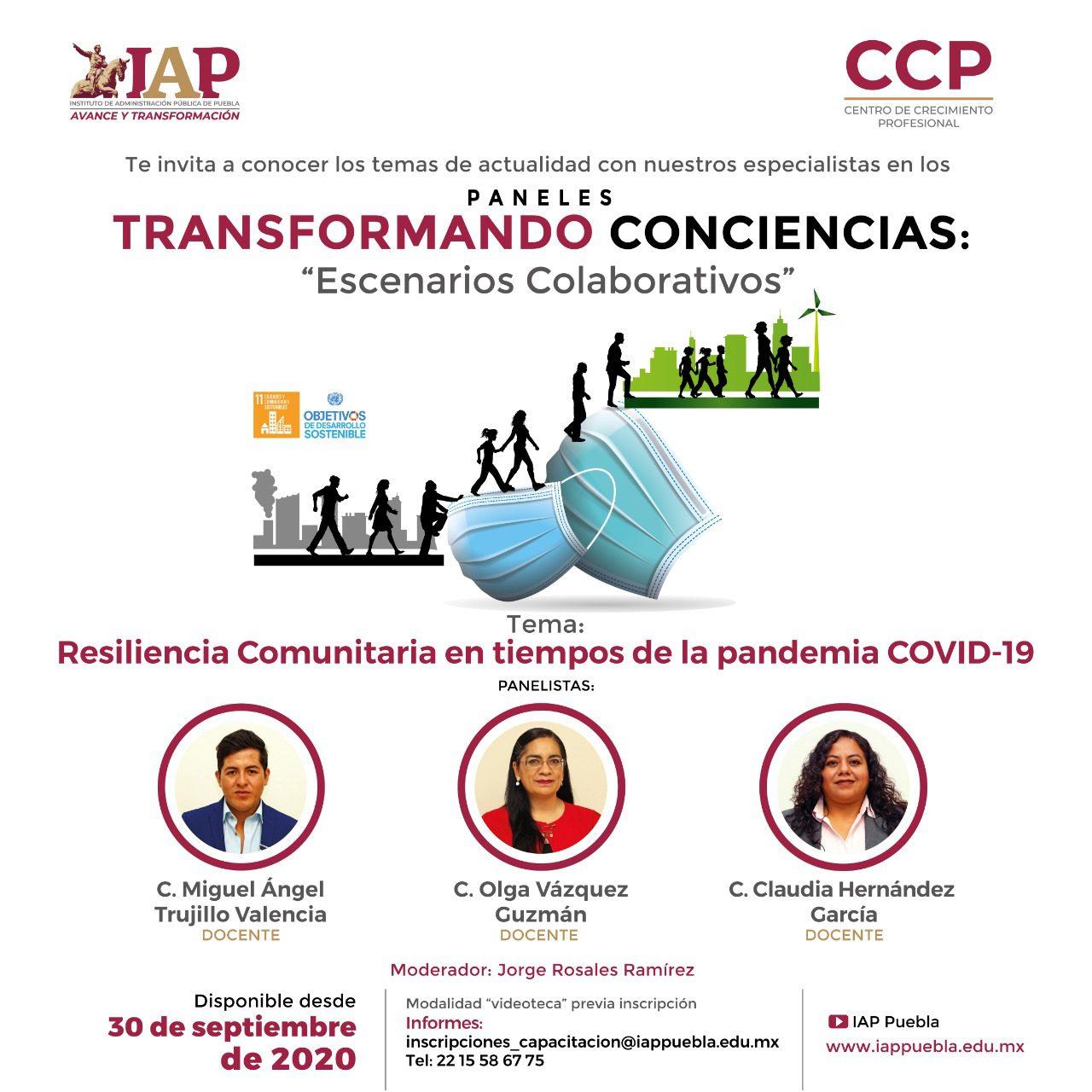 Paneles Transformando Conciencias Escenarios Colaborativos