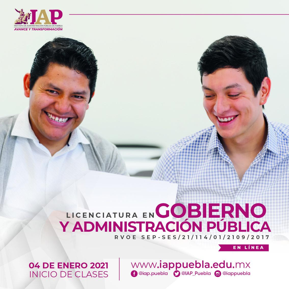 Licenciatura en Gobierno y Administración Pública