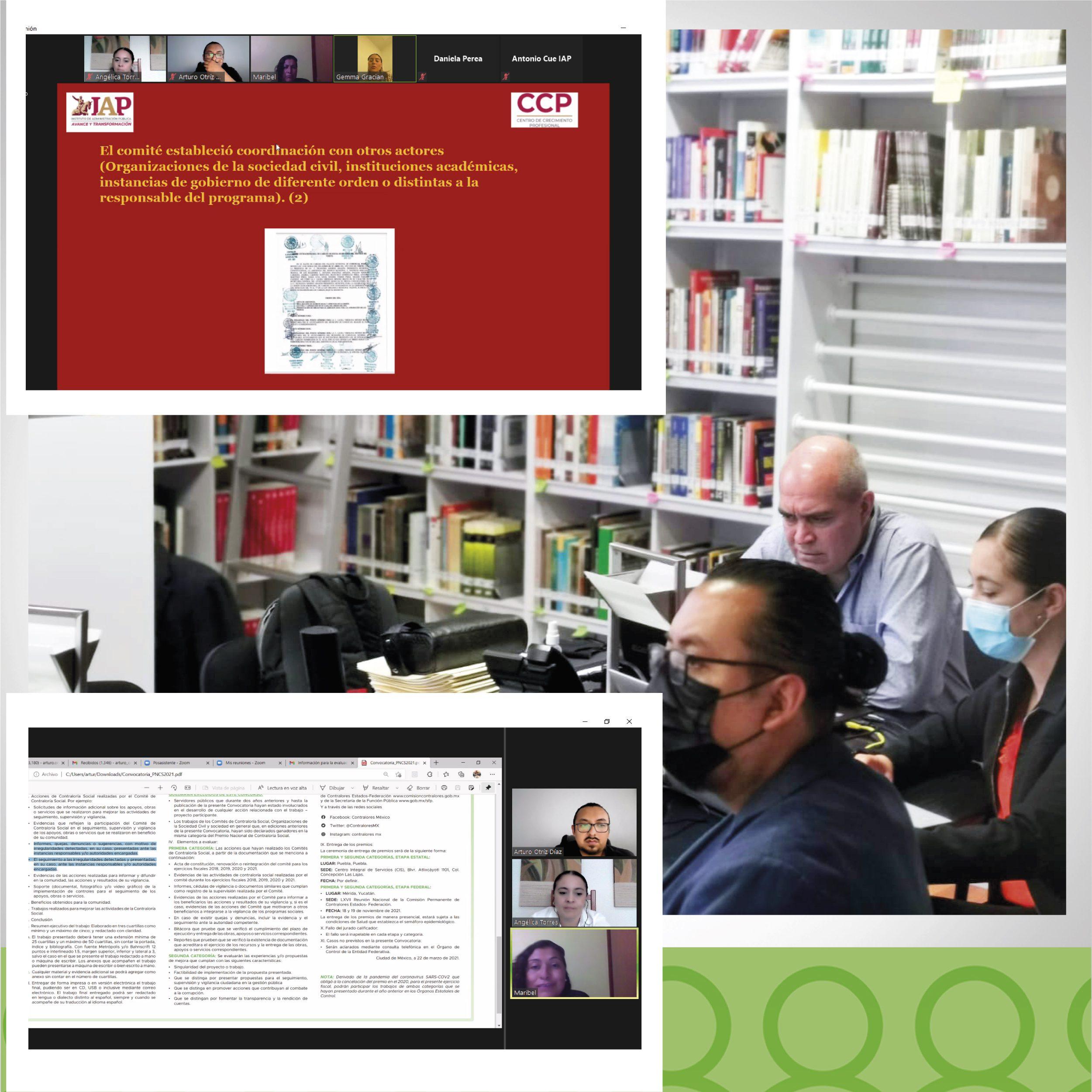 Resultado de la Evaluación de Proyectos en la Etapa Estatal del XIII Premio Nacional de Contraloría Social 2021